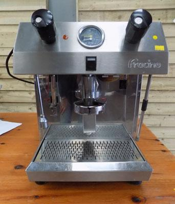 Francino coffee machine, to be plumbed in to water supply, needs coffee handle w/o