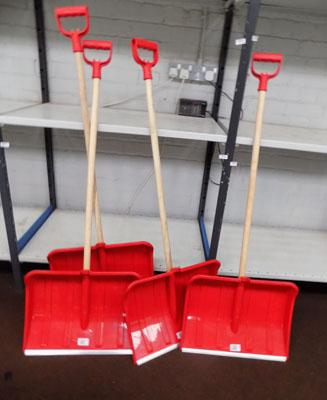 4x New shovels