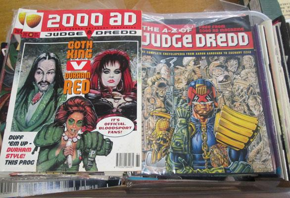 Judge Dredd/2000AD comics