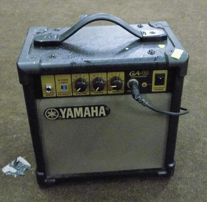 Yamaha guitar amplifier w/o