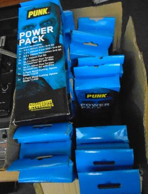 Box of 17 Punk power kits