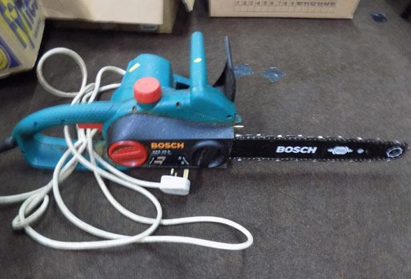 Bosch chain saw w/o