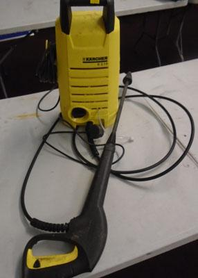 Karcher pressure washer w/o