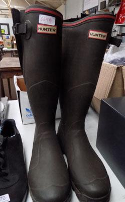 Hunters wellies size 10 as new