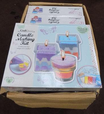 Box of Candle making kits