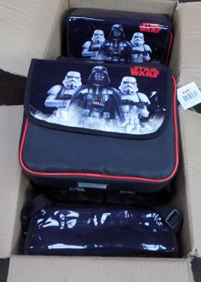 Box of Star wars lunch bags