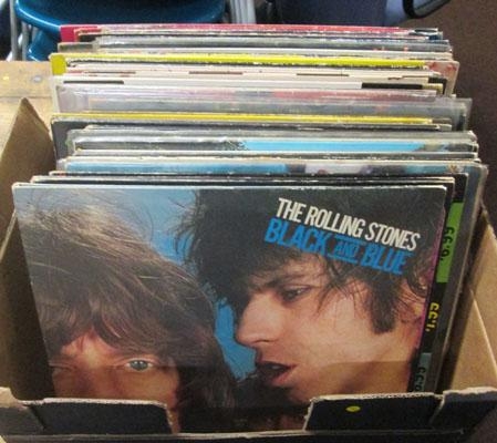 Vinyl LP's, Stones, Bowie, Queen, Who, Genesis, Punk etc
