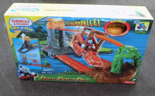 Thomas & friends daring Dragon drop set
