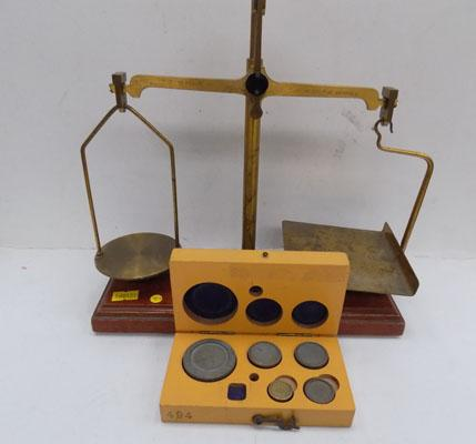 Selection of balance scales 