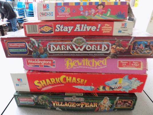 6x Assorted games