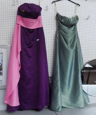 2x Evening gowns