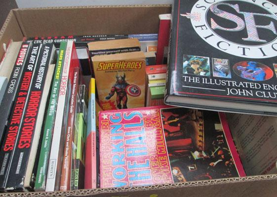 Box of Horror  and Sci Fi books