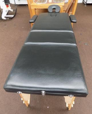 Professional massage table with carry bag