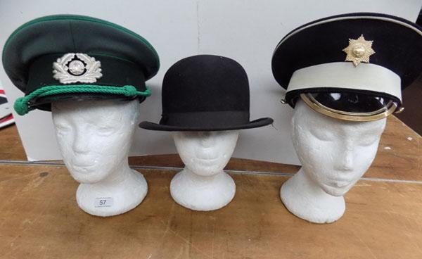 Selection of gents hats