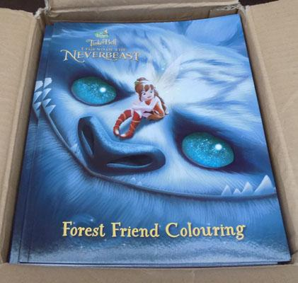 Box of new kids colouring books