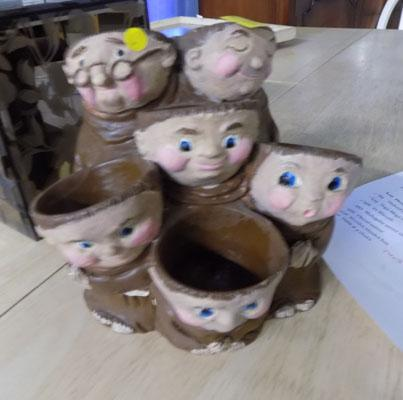 Monk egg cups