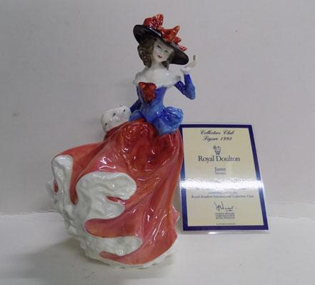 Royal Doulton figurine Janet (signed)