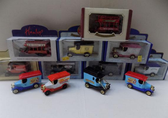Box of 12 Oxford diecast models