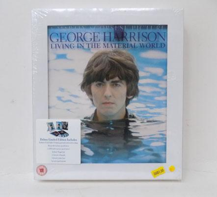 George Harrison 'Living in the material world' deluxe edition