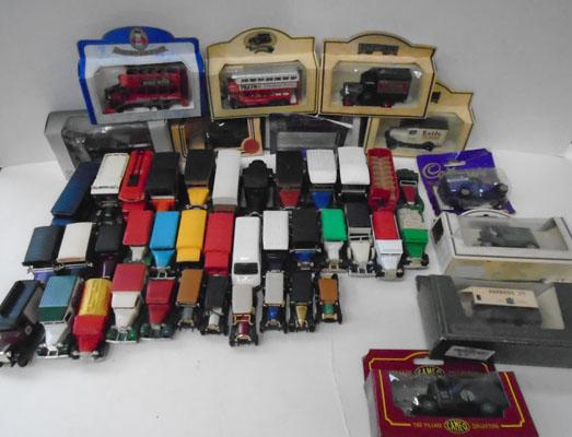 Selection of boxed die cast vehicles