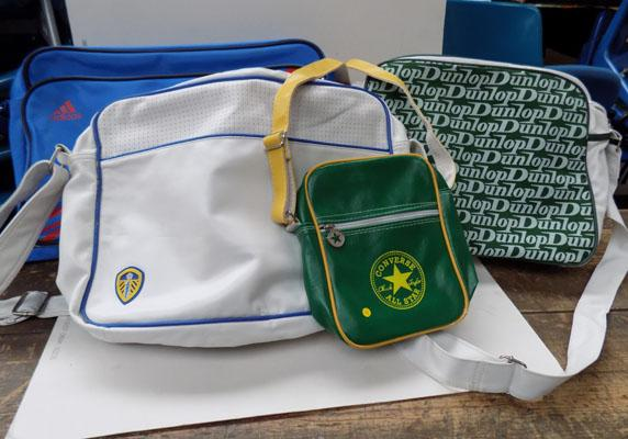 Selection  of sports bags