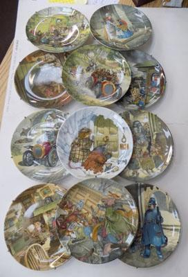 Wind in the Willows plates x 11