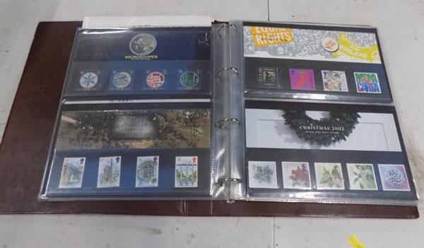 Folder of first day covers