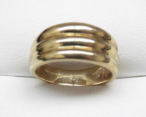 9ct Gold ring size L