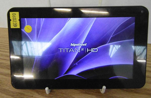 Titan 2 tablet (needs charger w/o