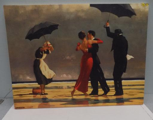 The Singing Butler  by Jack Vettriano print