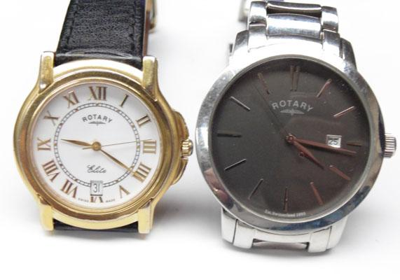 2 Rotary watches
