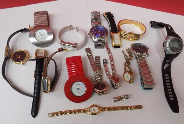Large selection of watches incl; Fossil
