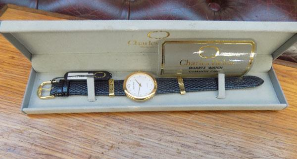 New Charles Delon watch rrp £149