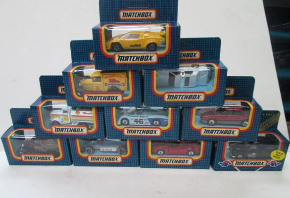 Matchbox collectables