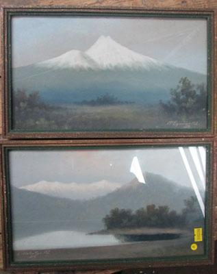 2 original oil paintings of New Zealand