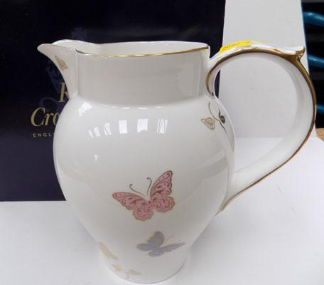 Royal Crown Derby Butterfly jug