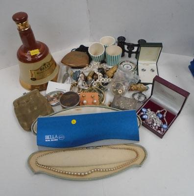 Large selection of collectables and silver jewellery