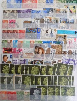 Well fill stock book GB and Commonwealth stamps
