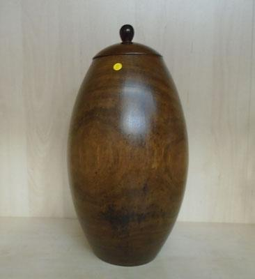 Large Oak lidded container