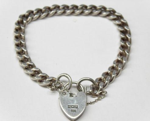 925 Silver heavy bracelet for charms