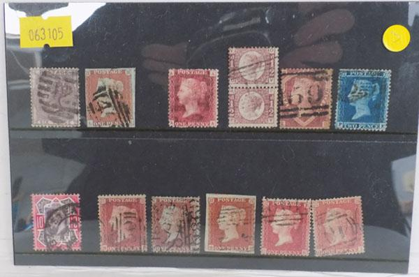 Mint & used Queen Victoria stamps