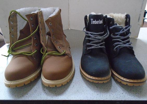 2x Pairs of ladies boots size 38 & 41