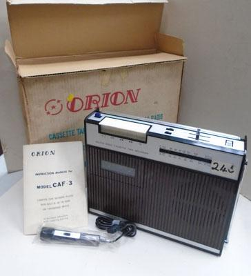 Vintage Orion radio in box