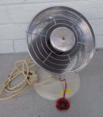 The Barber Polykymatic heat generator