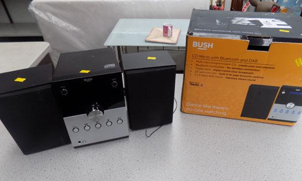 Bush CD micro with Bluetooth and DAB