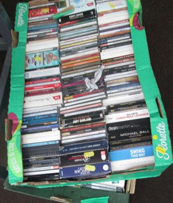 2x Boxes of CD's