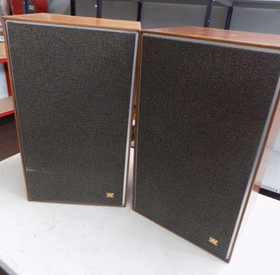 Large Wharfedale speakers