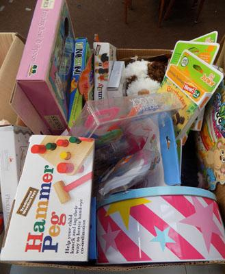 Box of mixed new items