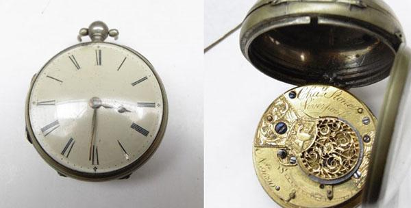 Pocket watch 'Cha stone' Liverpool No9690