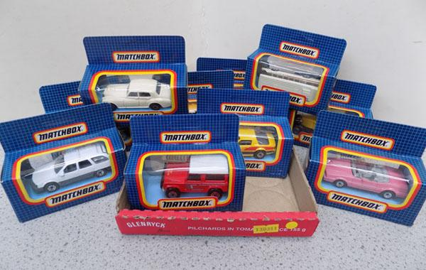 Small Matchbox collectables